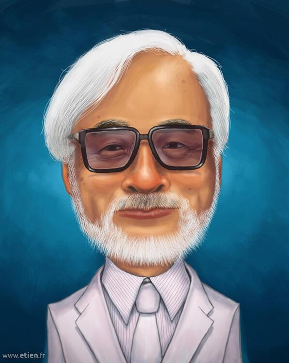 Hayao Miyazaki - PShop Cs5<br/> 2013