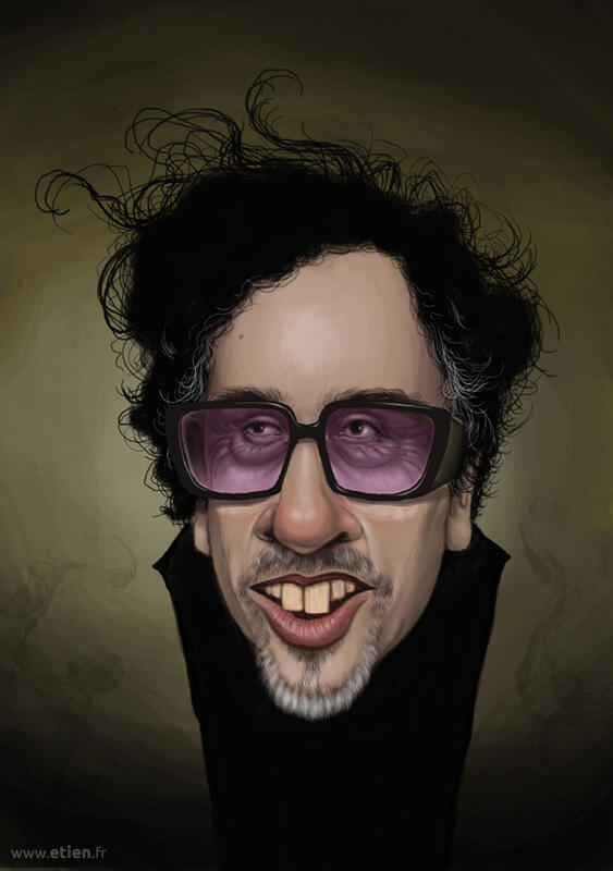 Tim Burton - PShop Cs5<br/> 2013