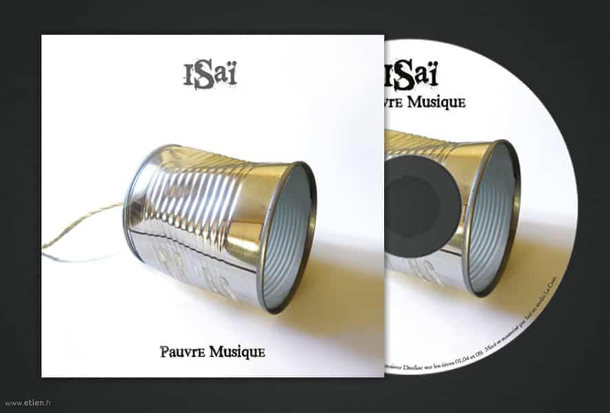 """Création de pochette d'album pour <a href=""""https://soundcloud.com/isaiouzair/sets/pauvre-musique/"""" target=""""_blank"""">Isaï</a> <br/> PShop Cs5<br/> 2011"""