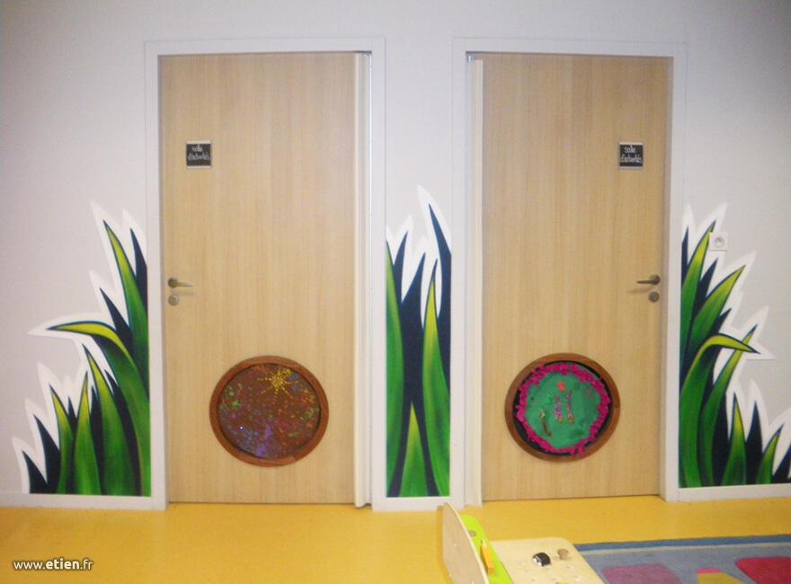herbe portes