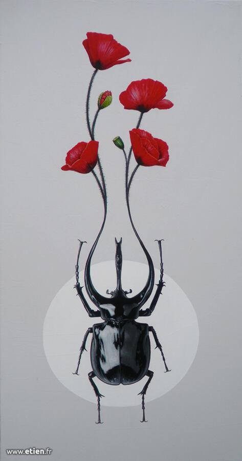 Acrylique sur toile</br> 1m x 50cm</br> 2013