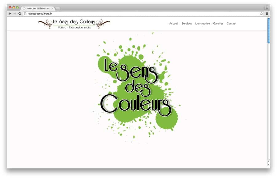 """Webdesign pour l'entreprise Le Sens des Couleurs<br/> <em><a href=""""http://lesensdescouleurs.com/"""" target=""""_blank"""">voir le site</a></em><br/>2015"""