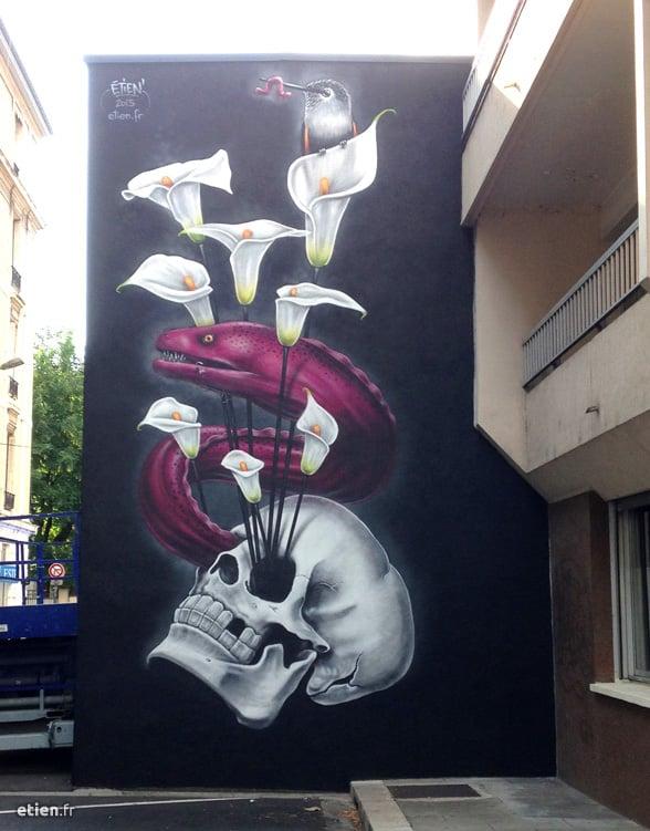 fresque-murène-grenoble