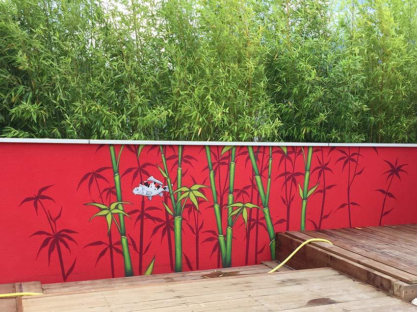 Fresque murale piscine tien 39 for Piscine seyssinet