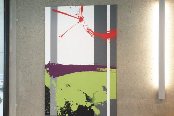 toile abstraite smba