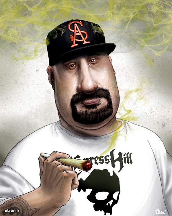 Caricature B Real