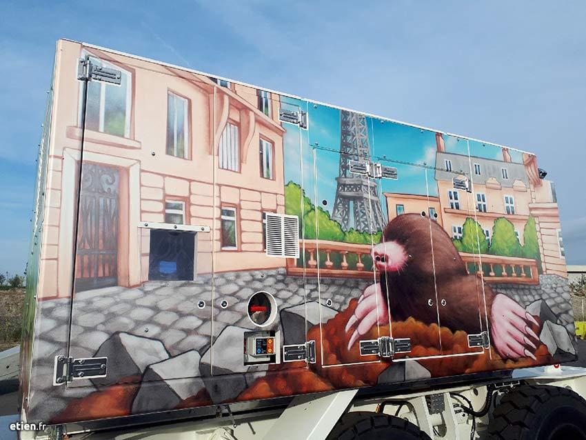 blog tien 39 fresque anamorphose tableaux illustration graffiti. Black Bedroom Furniture Sets. Home Design Ideas