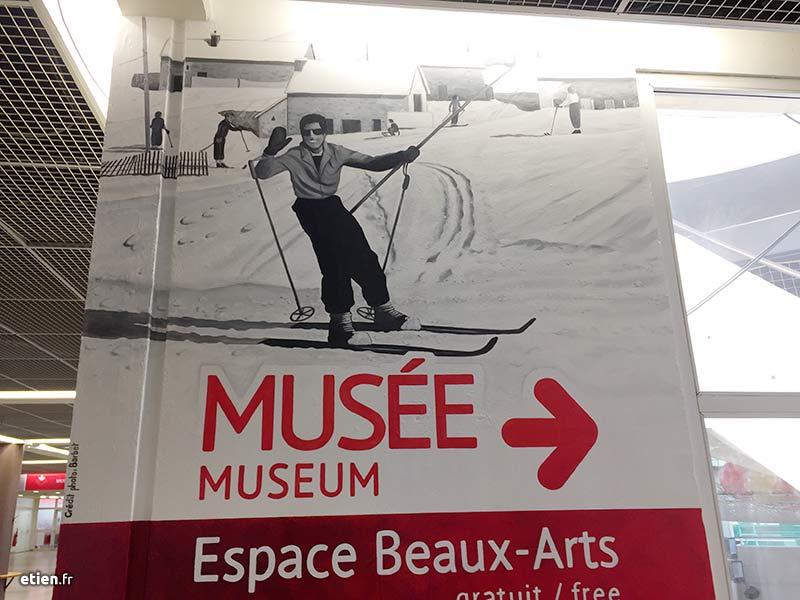 Fresque musée Alpe d'Huez
