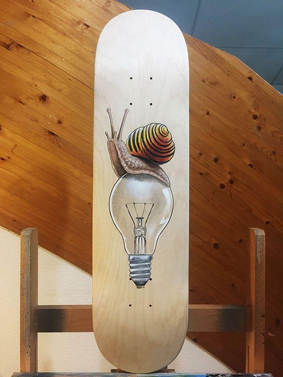 board custom petit ougandais