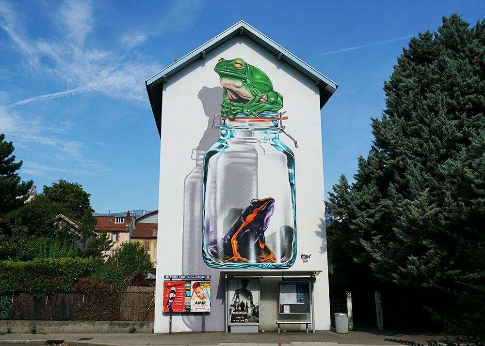 Fresque Grenoble StreetArtFest4